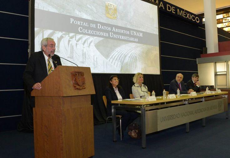 PRESENTA LA UNAM EL PORTAL DE DATOS ABIERTOS, COLECCIONES UNIVERSITARIAS
