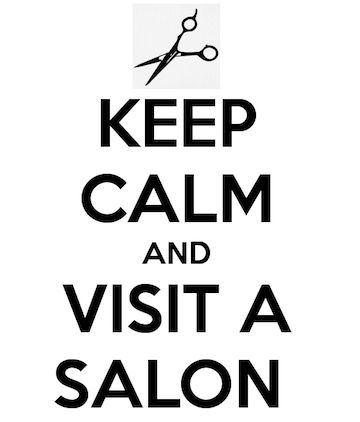 And not just any salon...a Paul Mitchell Salon!