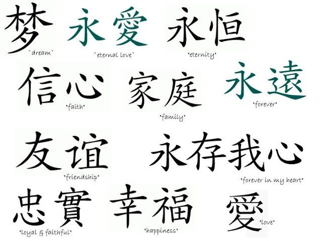 34 best chinese symbols and meanings images on Pinterest ...