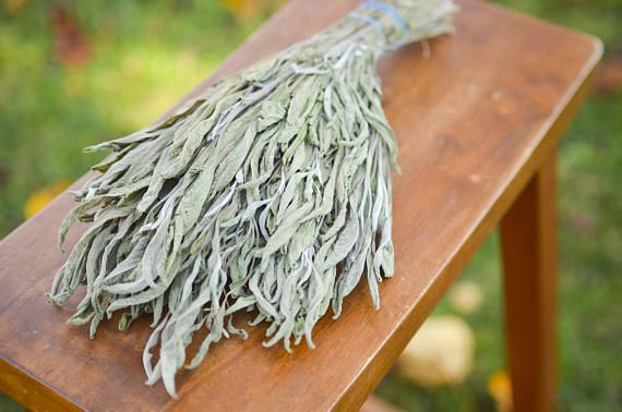 Dried Sage Bunch Sage Dried Herbs Fragrant Dried Sage Etsy How To Dry Sage Drying Herbs Dried Flowers