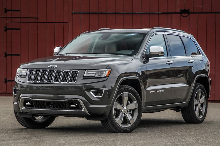 2015 JEEP Grand Cherokee Overland...love this ride!