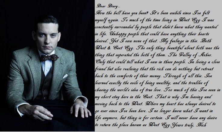 the great gatsby monologue gatsby