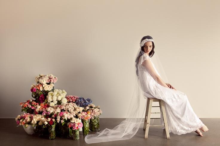 Belle Du Jour, lace veil- Amanda May