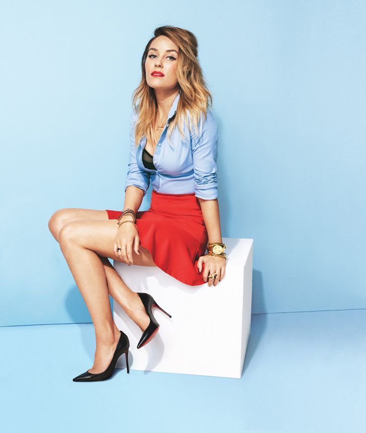 """""""I try to never look back at how I dressed in the first few seasons of Laguna Beach because it was pretty bad … head-to-toe bad. This past summer, MTV replayed every episode and I would always see it and be like, Ahh, noo! I wore these capri denim pants a lot and they were so bad.""""  -Lauren Conrad"""