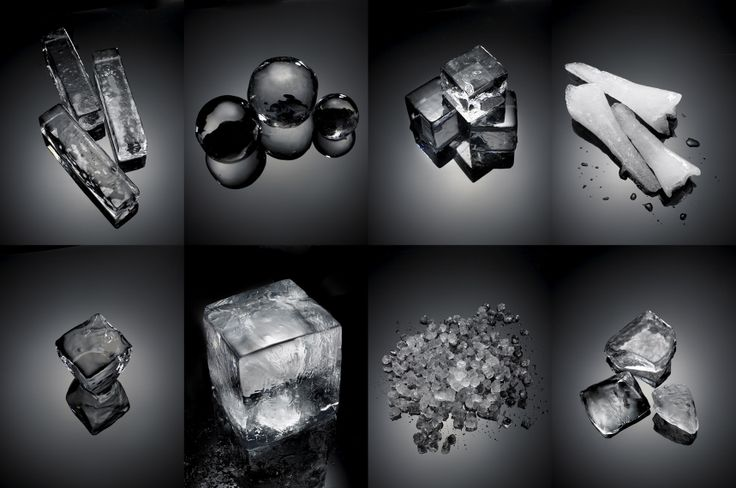 Ice in all shapes and sizes with Michael Kraus Photography, courtesy of HundredWeight Ice