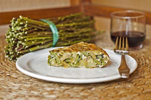 Truita d'espàrrecs - Bojos per la cuina