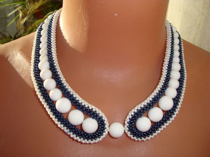 collar | biser.info - all about the beads and beaded works