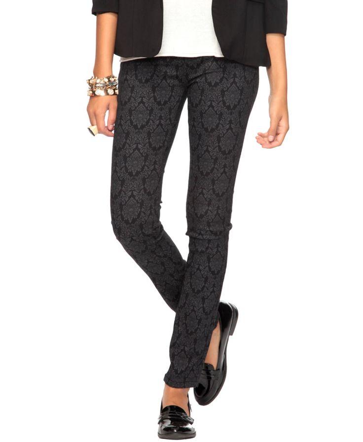 Damask Skinny Jeans