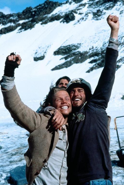 "Jack Noseworthy and David Kriegel in ""Alive"" (1993)"