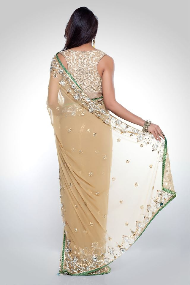 Satya Paul Embroidered Sarees | Indian Saree Trends 2012-2013 | Fashion 2013