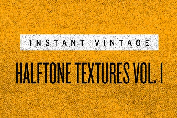 FREE this week on Creative Market: HALFTONE TEXTURES VOL. 1 by INSTANT VINTAGE Download link: http://crtv.mk/b0Aft