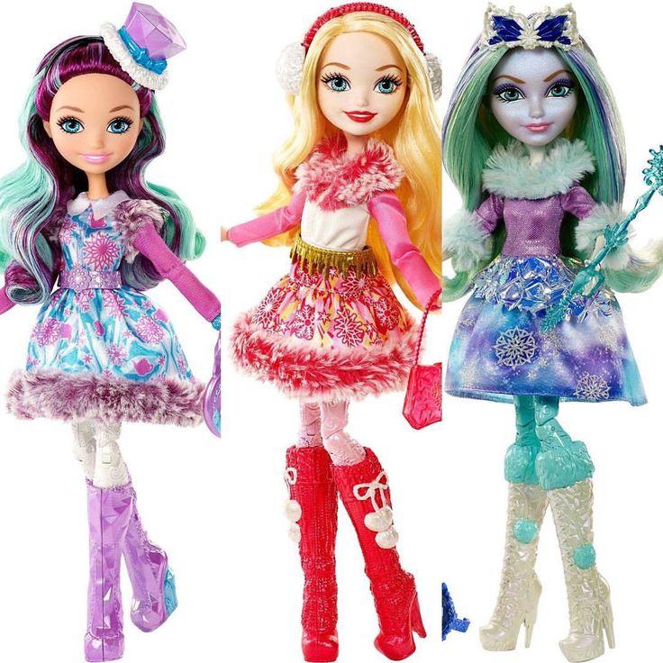томмоте, картинки куклы эвер афтер хай зима работают низкого