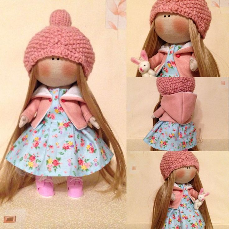 $100 Hand made Soft doll, Decor doll, Home, Art, Gift, for girl, baby, decoration, unique magic doll by Master GagaDolls