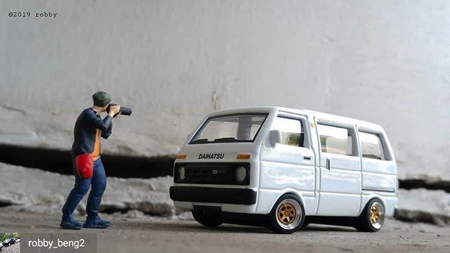 Reposted From Robby Beng2 Daihatsu Hijet 1000