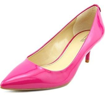 MICHAEL Michael Kors Flex Pump Women Pointed Toe Patent Leather Pink Heels.