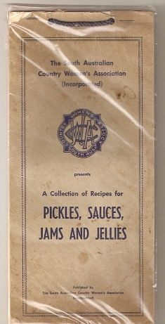 Pickles, Sauces, Jams and Jellies 1960