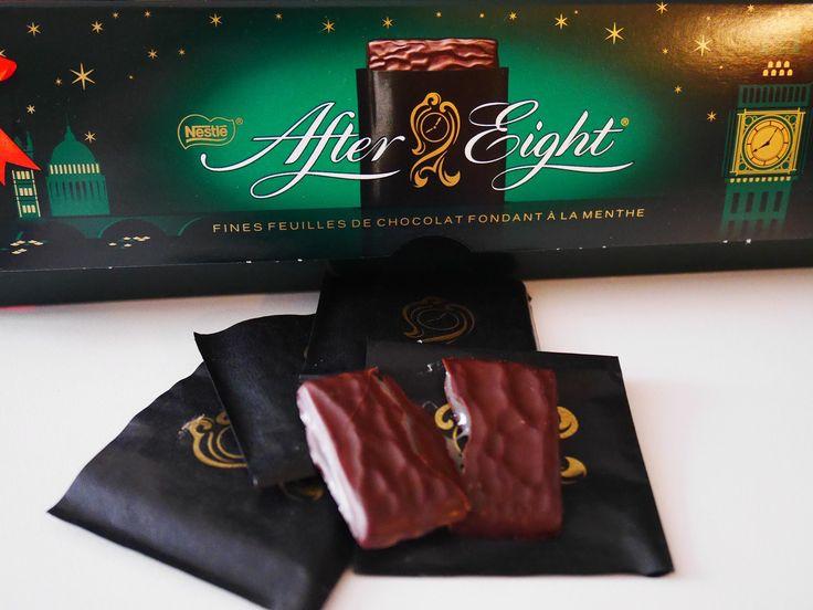 Gâteau au chocolat et à l'after eight