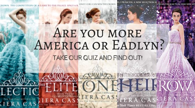 Kiera Cass's 'Selection' series has swept the YA world and had thousands of fans fall at their feet for the swoony romances. But we're not ready for it to be over just yet! Take our quiz and she if you're more like America, or more like Eadlyn. Grab 'The Crown' here! What did you get?…