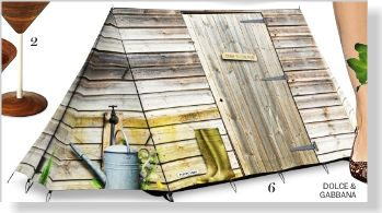 FieldCandy Tent, $785. Clipped from Marie Claire using Netpage.