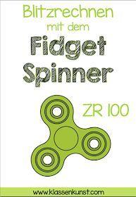 Mathe-Spass mit den Fidget Spinners An ihnen kommt man derzeit nicht vorbei: den Fidget Spinners! Sie sind überall. In allen Farben ...