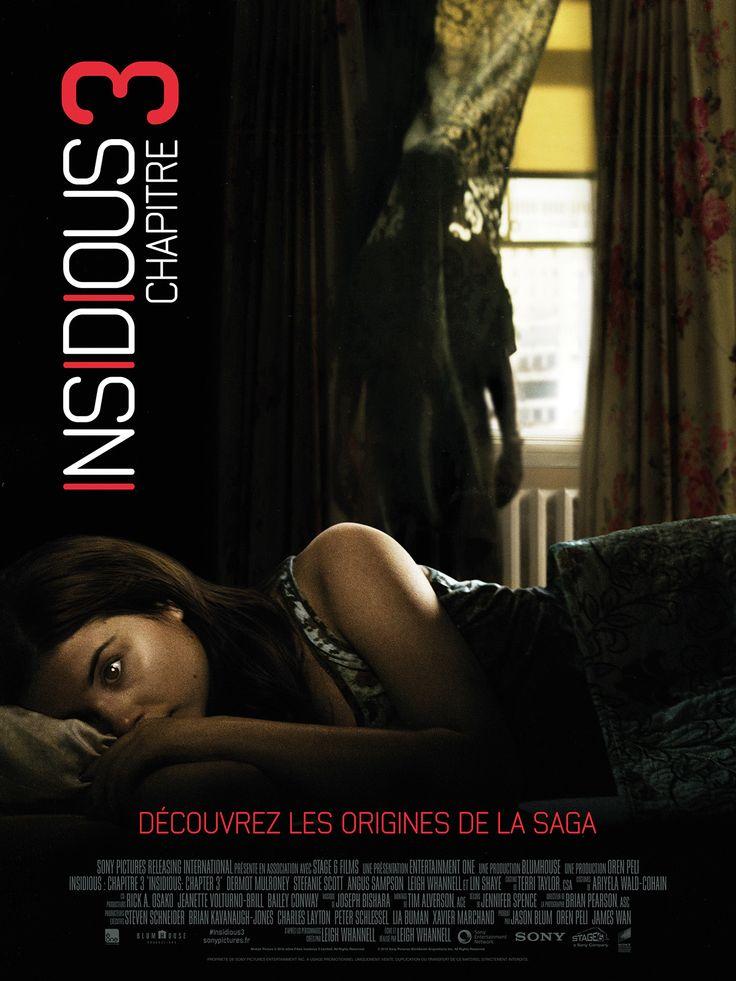 Insidious : Chapitre 3 est un film de Leigh Whannell avec Dermot Mulroney, Stefanie Scott. Synopsis : Parce qu'elle a l'impression que sa mère défunte cherche à entrer en contact avec elle, la jeune Quinn Brenner se tourne vers Elise, un médium qui pos