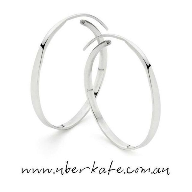 When it comes to dressing your ears, you can't beat silver hoops. https://www.uberkate.com.au/products.php?category=Earrings