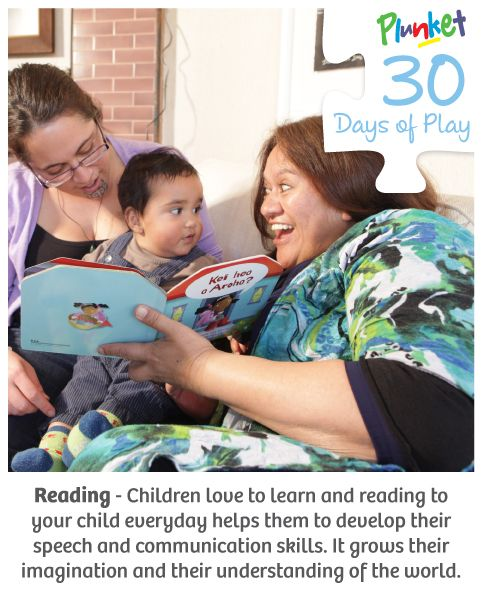 Today in #30daysofplay, take some time out and read your child their favorite book.