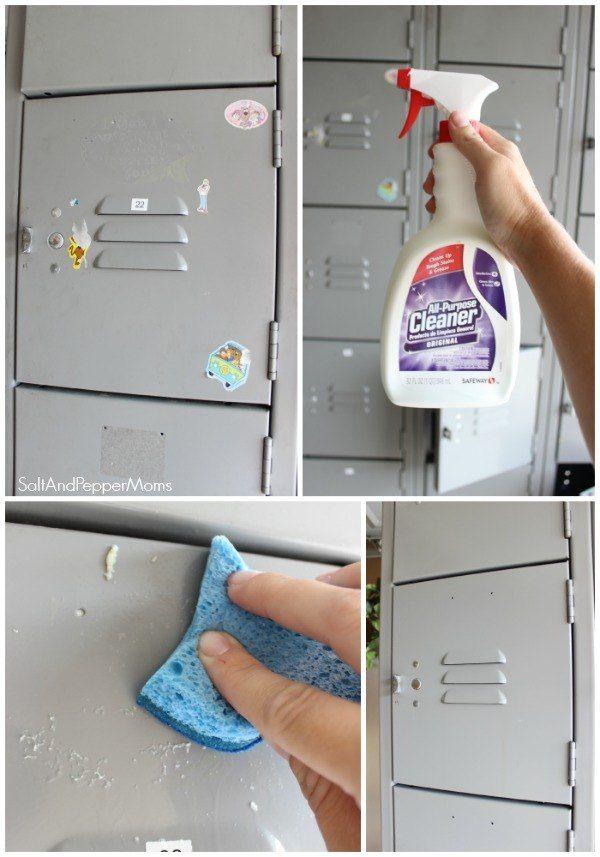 DIY Painted Lockers
