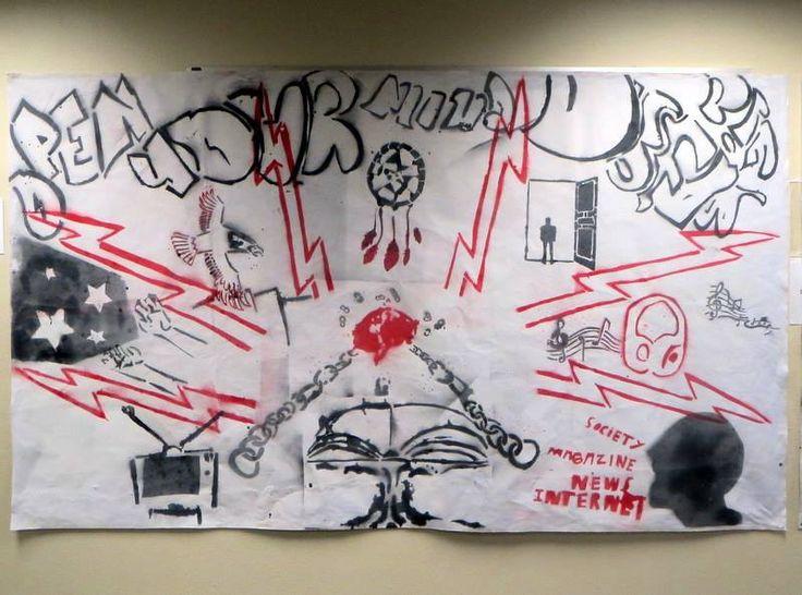 Multi-Media Class 4B titled: Open Your Mind- Dream Big