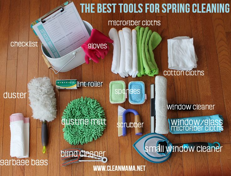 Cut down on needless cleaning tools!The best-of-the-best tools for your Cleaning arsenal via Clean Mama