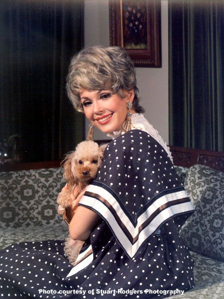 0 Barbara Rush with poodle