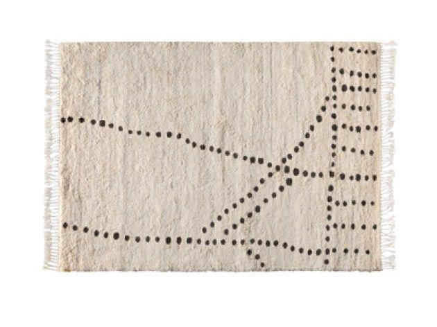 Handgearbeiteter Teppich aus Wolle RIFF by Toulemonde Bochart | Design Eric Gizard