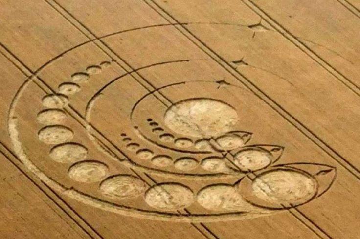 2012 ficou marcado na história como um período repleto de descobertas subsequentes de círculos em plantações, com 10 formações registradas na Inglaterra.