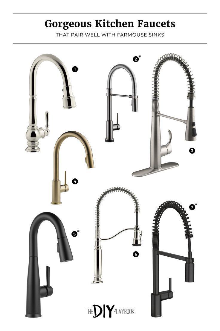 Was Ist Bei Der Auswahl Eines Spulbeckens Zu Beachten Das Diy Playbook Kitchen Faucet Farmhouse Farmhouse Faucet Farmhouse Sink Faucet