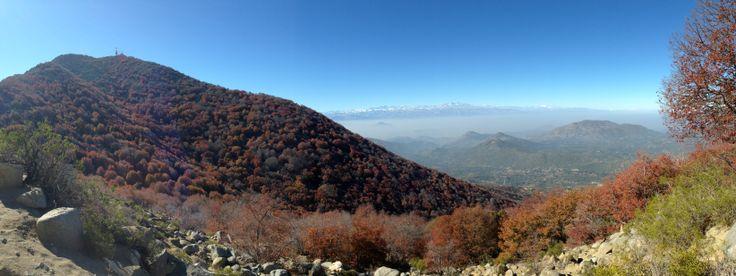 Cerro el Roble, Caleu