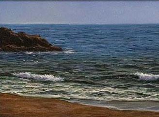 My View (Book Painting)     Artist   Alfredo Navarro