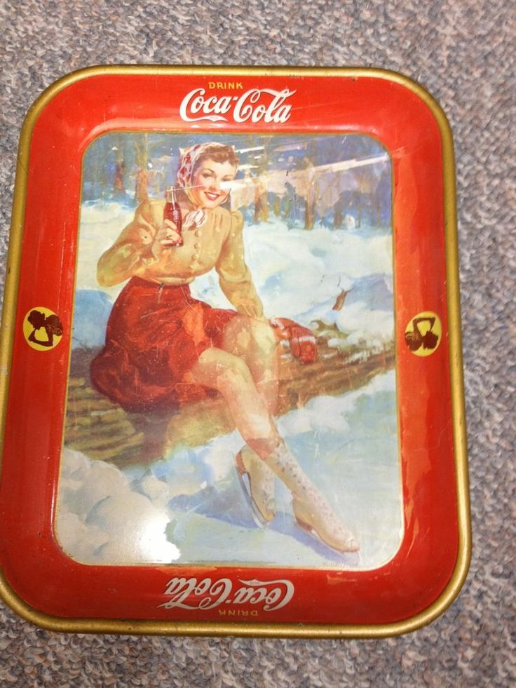 1000+ images about Coca Cola Serving Trays on Pinterest ...