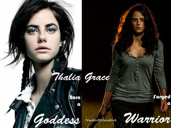 I would 100% cast Kaya Scodelario as Thalia Grace