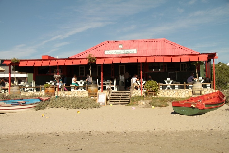 Voorstrand Restaurant:  This quaint little restaurant is on the beachfront in Paternoster. It is an old Fisherman's house, 114 years old, built out of wood and corrugated roofing, overlooking endless unspoilt beaches in a working fishing village.