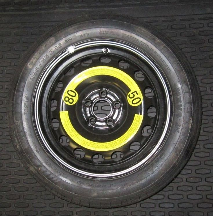 2006-17 Volkswagen VW Passat Jetta Beetle Michelin spare tire 205 55 r16 OEM