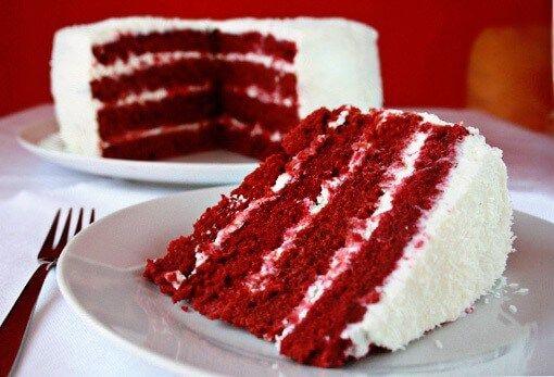 Ένα Κέικ Κόκκινο Βελούδο (Red Velvet Cake)