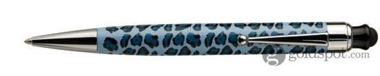 Monteverde One Touch Stylus Skins Tribal Blue 2 in 1 Stylus for Tablets, iPad, iPhone, Droid, Smartphones, and more Ballpoint Pen