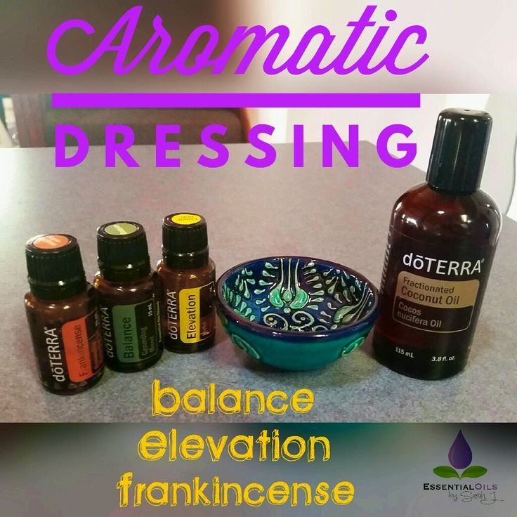 Aromatic dressing!