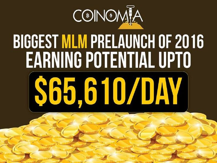 Coinomia The Biggest Bitcoin/Etheruem Pre-Launch of the decade. Register free now ,  Earn $65,610 per day ! Earn absolutely free, You can Upgrade from your earnings from your first free account withdrawl after launch !