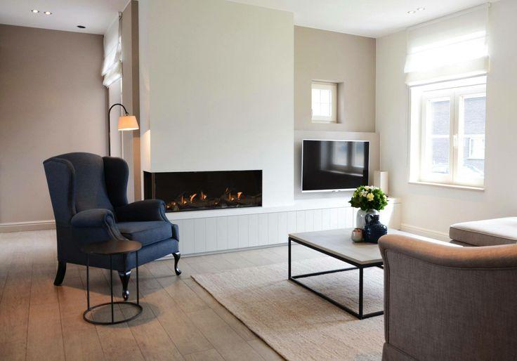 25 beste idee n over blauwe muur kleuren op pinterest blauw grijze muren blauwe muurverven. Black Bedroom Furniture Sets. Home Design Ideas