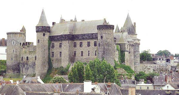 Château de Vitré - XIème siècle
