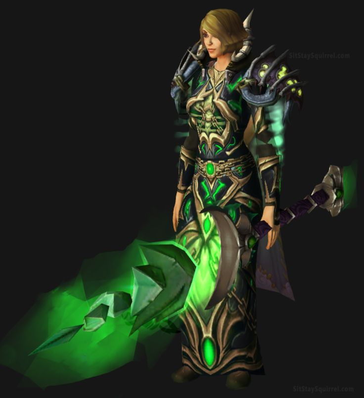 Human Female Frost Mage Artifact Transmog WoW