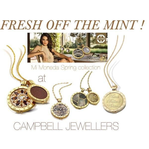 Mi Moneda SPRING 2015 collection now available on http://campbelljewellers.com/