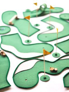 Tabletop Mini Golf Game for Father's Day | Oh Happy Day!