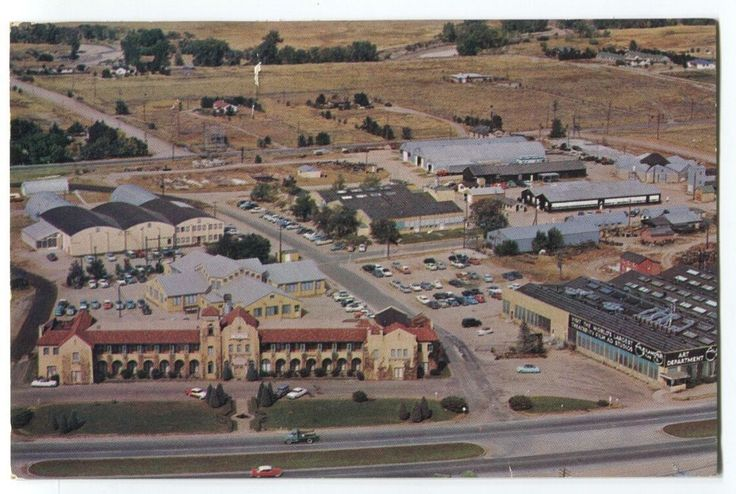 1962 Alexander Film Co Colorado Springs Colorado Postcard